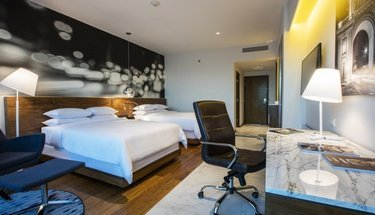 Double suite Hotel Krystal Urban Guadalajara Guadalajara