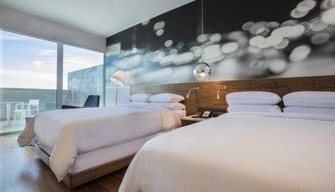 Suite dupla Hotel Krystal Urban Guadalajara Guadalajara